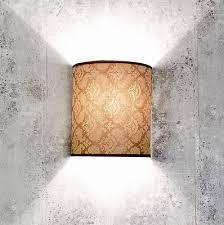 eckige wandle stoff schirm loft design schlafzimmer