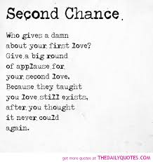 Poems About Second Chances With Images