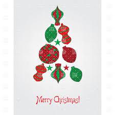 HomArt Felt Elf Ornament Red And Green Set Of 6 Modish Store