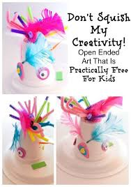 Check Out The Creative Kids Art We Created And Tips For How To Do Open Ended Arts Crafts With Your Child Even Better These Ideas Are Almost Free