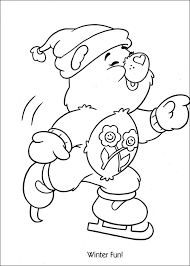 Care Bears Coloring Pages To Print