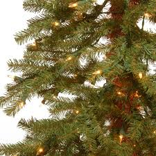 Hickory Cedar 4 Green Artificial Christmas Tree With 100 Clear Lights