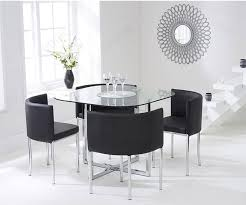 Black Glass Round Dining Table Stowaway 4 Chairs - Dining Room Ideas Oak Round Ding Table In Brown Or Black Garden Trading Extending Vintage And Coloured With Tables Glass Square Wood More Amart Fniture Serene Croydon Set 4 Marlow Faux Leather Eaging Solid Walnut And Chairs White Outdoor Winston Porter Fenley Reviews Wayfair Impressive 25 Levualistecom Amish Merchant Oslo Ivory Leather Modern Direct Rhonda In Blacknight Oiled Woood Cuckooland Chair Seats Round Extending Ding Table 6 Chairs Extendable