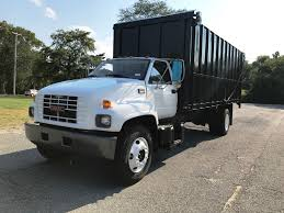 100 Gmc Dump Trucks For Sale 2001 Gmc C7500 Box Dump Truck For Sale