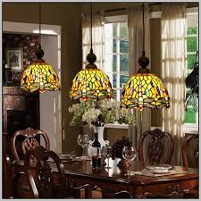 Stained Glass Dining Room Light Fixtures