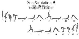Sun Salutation B By Neil Keleher