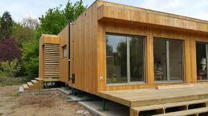 montage d une maison en bois natura rosso dans le loir et cher