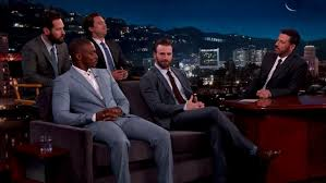 Anthony Mackie And Sebastian Stan Join Their Marvel Co Stars As Jimmy Kimmel Airs A