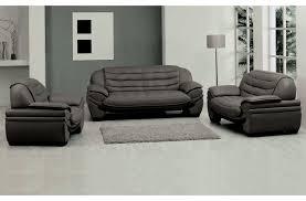canap cuir gris canapé 2 places en cuir italien benson gris foncé mobilier privé