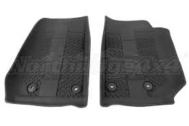 Jeep JK AEV Front Floor Liners Jeep Rubicon 2014 2018
