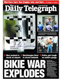 100 Daily Source Drugs Guns And Death Bikie War Explodes