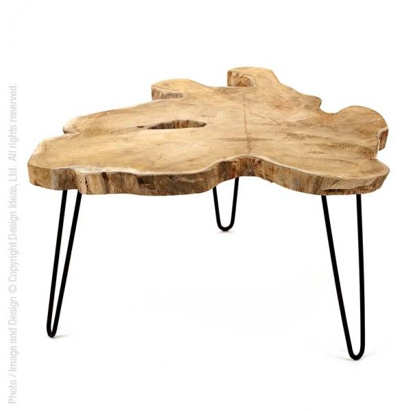 Design Ideas Takara Coffee Table with Tray Top