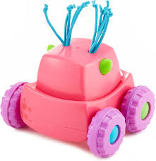 Fisher-Price Push & Row Monster Truck Girls 14 Cm Pink - Internet-Toys