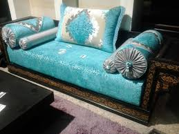 tissu canapé marocain tissu pour salon marocain moderne galerie et tissus salon marocain