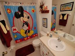 Vintage Mickey Bathroom Decor by Bathroom Ideas Disney Kids Bathroom Sets With Mickey Mouse Shower