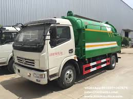 100 Sewer Truck Vacuum Truck With High Pressure Jetting Vacuum Sewer Cleaner 4000L