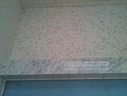 ceramictec subway carrara glass tile bathroom st