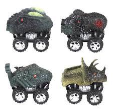 100 Dinosaur Monster Truck Amazoncom We Are Toys 4 Wheel Friction Power