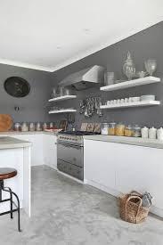 peinture grise cuisine tendance cuisine 50 exemples avec la couleur grise peintures