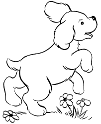 Glamorous Doggie Coloring Pages Dog For Kids Printable