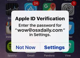 Fix Constant Apple ID Verification Password Pop Ups on iPhone & iPad