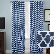 better homes and gardens tangier room darkening curtain panel rod