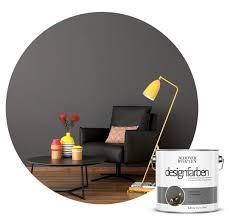 farbe designfarbe grau schöner wohnen kollektion