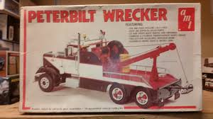 100 Model Fire Truck Kits Vintage Rare Amt 125 Peterbilt Wrecker Semi Kit T533