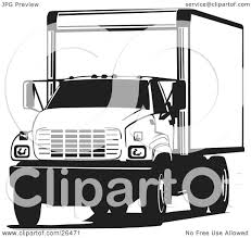 Clipart Illustration Of A Big Delivery Truck Parked, In Black And ... Delivery Truck Clipart 8 Clipart Station Stock Rhshutterstockcom Cartoon Blue Vintage The Images Collection Of In Color Car Clip Art Library For Food Driver Delivery Truck Vector Illustration Daniel Burgos Fast 101 Clip Free Wiring Diagrams Autozone Free Art Clipartsco Car Panda Food Set Flat Stock Vector Shutterstock Coloring Book Worksheet Pages Transport Cargo Trucking