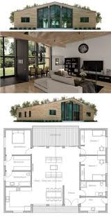 Sims 3 Floor Plans Small House by Small House Floor Plan With Open Planning Vaulted Ceiling Three