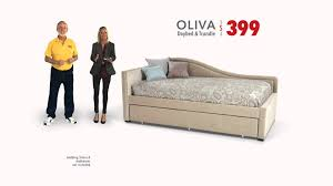 Decor Beautiful Olivia Daybed Bobs Furniture The Pit In Beige