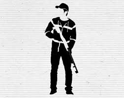 Walking Dead Pumpkin Stencils Printable by Walking Dead Vector Etsy