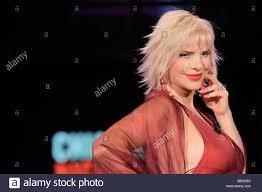 100 Staller Ilona Staller Milano 2009 Chiambretti Night Tv Show Stock