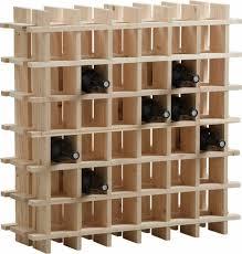 range bouteille en brique brico casier a vin pas cher bois design cave a vin porte