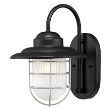 shop millennium lighting r series 11 5 in h satin black medium
