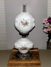 Antique Hurricane Lamp Globes by Vintage Double Globe Lamp Gone With The By Maryjanesvintageshop