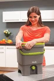komposteimer für küchenabfälle und kompost 2 x 16 liter mit