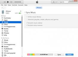 iTunes won t sync songs to iPhone or iPod