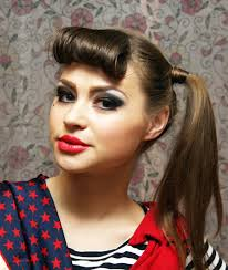 Vintage Ponytail With Bangs For 2016