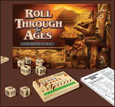 Roll Through The Ages Bronze Age Games Magazine Best New Family Game