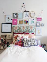 Dorm Room Decor Bed With Gallery Wall