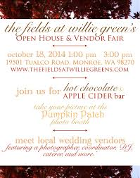 Snohomish Farms Pumpkin Patches by Snohomish Farm Wedding Venue Fall Open House Wedding Shows