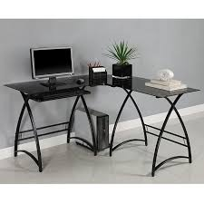 Glass And Metal Corner Computer Desk White by 26 Best Computer Room Images On Pinterest Home Office Corner