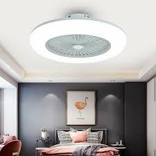 oukaning deckenventilator deckenventilator mit beleuchtung moderne lüfter schlafzimmer le deckenleuchte 3 farbtemperatur dimmbar mit fernbedienung