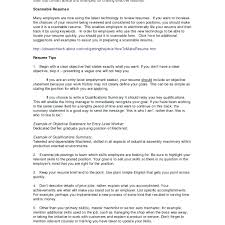 Accounts Payable Resume Examples Resume Objective Cover Letter
