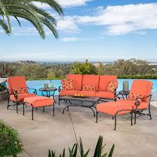 Kirkland Brand Patio Furniture by Clayton 8 Piece Seating Set