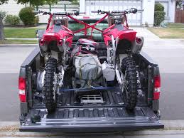 100 Truck Bed Tie Down System How To Tie Down Two Dirtbikes In Back Of Truck South Bay