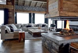 wohnzimmer im chalet stil inneneinrichtung eines zimmers