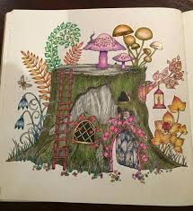 From Enchanted Forest Coloring Book