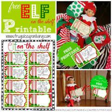 FREE Elf on The Shelf Printable Notes
